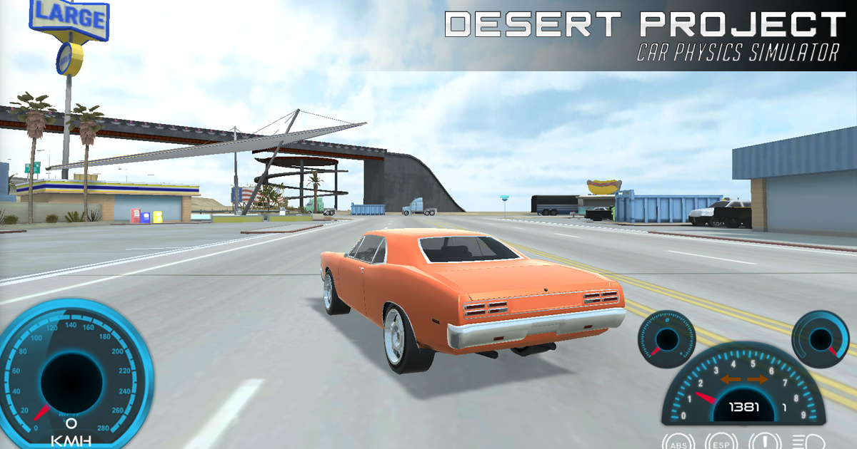 Image Desert Project Car Physics Simulator