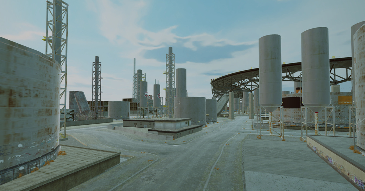 Image Project Car Physics Simulator: Industrial Zone