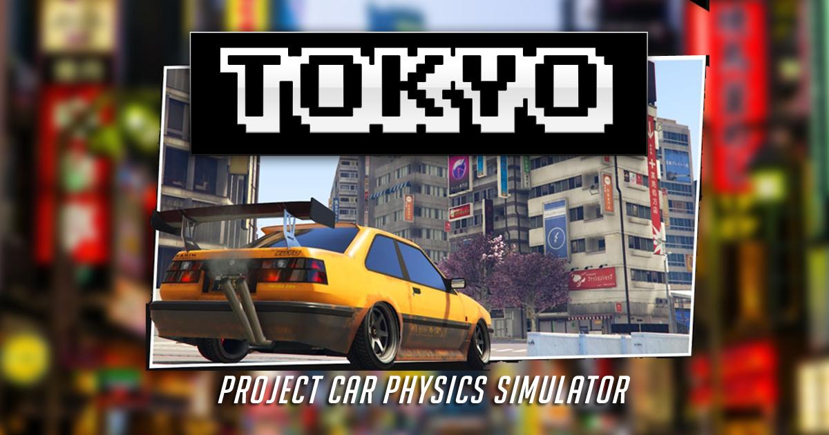 Image Project Car Physics Simulator: Tokyo