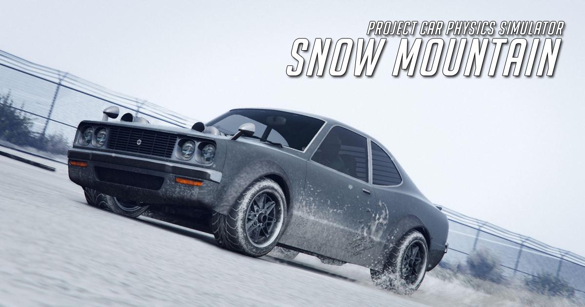 Snow Mountain Project Car Physics Simulator