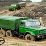 army bomber truck go
