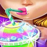 Ice Slushy Maker Rainbow Desserts game online