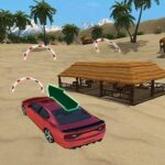 Incredible Water Surfing Car Stunt Game
