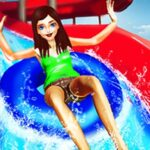 Waterpark Super Slide